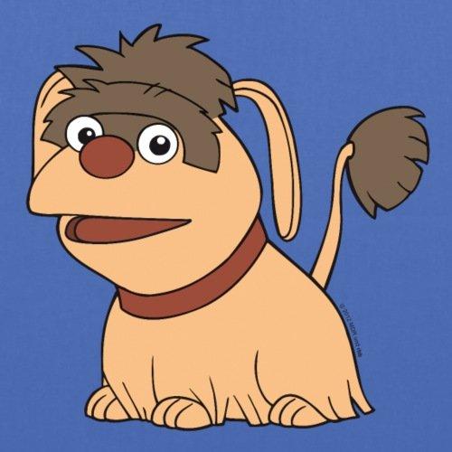 Spreadshirt Sandmännchen Und Seine Freunde Hund Moppi Stoffbeutel Hellblau