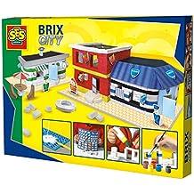 SES Creative - Brix city, set de juego, multicolor (14589)