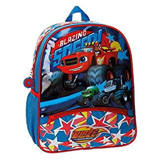 Joumma Blaze and The Monster Machine Mochila Infantil, 40 cm