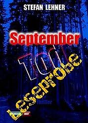 September-Tod - ausführliche Leseprobe