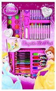 Anker PSCM - Set de dibujo y pintura con diseño de Princesas Disney