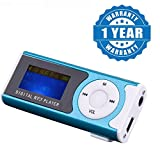 #9: Raptas Light Weigth Digital Mp3 Player With LED Screen Great Sound and Good battery life use while Travelling, Jogging, Walking(Color may vary)