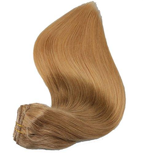 Balayage à biscuits 35,6 cm 40,6 cm 45,7 cm 50,8 cm 55,9 cm remay cheveux Extensions en cheveux 100% humains
