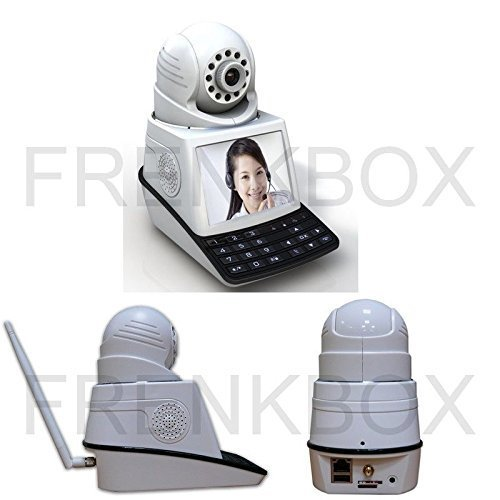 Bildtelefon dvr Wally 2 Anti-Diebstahl 433mhz MBildschirmonitor 3,6 Kamera IP Schwenk-Neige