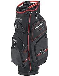 Wilson Staff Nexus Sac de golf III blrd Noir/Rouge