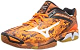 Mizuno Wave Stealth 3, Chaussures de Handball Homme, Orange (OrangeCamo/White/Black 58), 47 EU