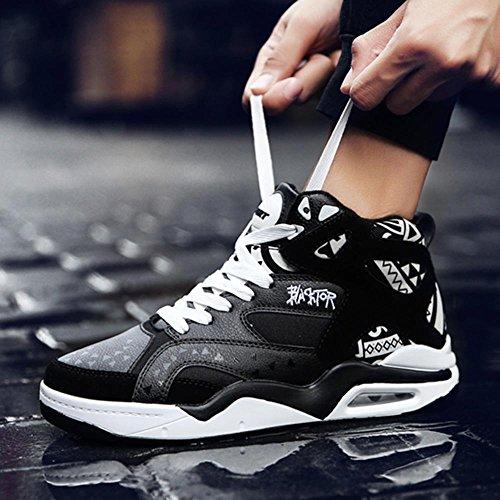 3e43e7989a2a Xiaolin Hommes Chaussures Adolescent Chaussures De Course Air Chaussures  Basketball Chaussures (couleur  Noir