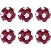 331c0222ff Gazechimp 6 Pedazos Pelotas de Fútbol de Mesa Bolas de Futbolín 36MM  Calidad Premium Regalos para