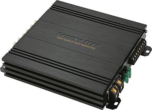 GROUND zERO gzdsp 4.80 Amp Processeur 8 canaux avec amplificateur 4 canaux Voiture