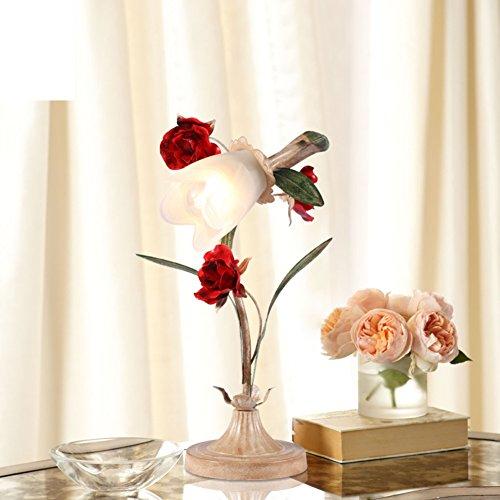 lampara-pastoral-americana-mesita-de-noche-dormitorio-estudio-caracter-fresco-y-original-arte-y-flor