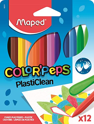 Color'Peps Plasticlean Lápices de colores en caja de cartón
