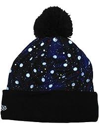 New Era - Bonnet Homme Polka Space Knit - Black / Space