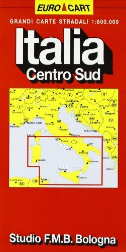 Italia. Centro sud 1:800.000 (Euro Cart)