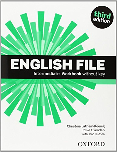 English File Intermediate: Student's Book and Workbook Without Answer Key Pack 3rd Edition (English File Third Edition) - 9780194519908