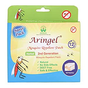 Aringel Mosquito Repellent Patch 2nd Generation - Pack of 50 pieces