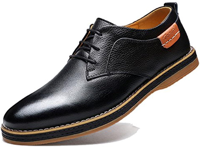 LEDLFIE Herren Lederschuhe Mode Schuhe Freizeitschuhe  Billig und erschwinglich Im Verkauf