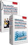 Produkt-Bild: Kombi-Paket Die aktuellen aushangpflichtigen Gesetze 2018 + Arbeitsschutz, Gesundheitsschutz, Unfallverhütung