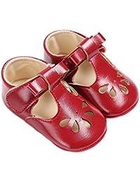 864f70a5df17e Sfit Enfants Chaussures pour Bébé Fille Chaussons de Princesse Sandales Semelle  Souple Antidérapant en ...