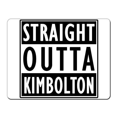Kimbolton gerade Outta Wanderhose Kimbolton–PREMIUM Mauspad (5Dick)