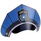 Amakando Partyhüte 8 Polizei Partyhütchen Polizeihut Kindergeburtstag Geburtstagshüte Geburtstagshut Jungen Lustige Hüte Party Hütchen Police Kinder Partyhut