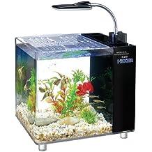 15 Litros con filtro y del tanque de peces de mini acuario/Iluminación LED