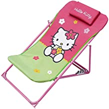 Hello Kitty - Silla plegable, color rosa (Giros AB711404)
