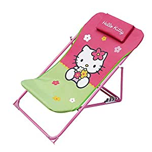 hello kitty chaise pliable couleur rose circonvolution ab711404 jeux et jouets. Black Bedroom Furniture Sets. Home Design Ideas