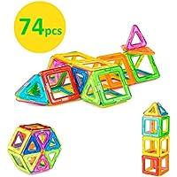 Brainy Building Blocks - Shape Magnets -  Magnetic Shapes for Children  - Magnetic Building Blocks - Ferris Wheel - Magnetic Shapes for Kids - Magnetic Construction Sets - Magnetic Toy -  Creative Building Blocks  Set -  Building Blocks for Children - Toy Magnets