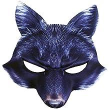 Tiermaske Böser Wolf Kindermaske Bestie Wolfsmaske für Kinder Werwolf Karneval