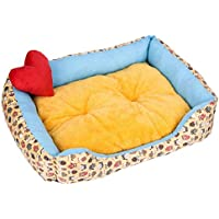 LJSHU Pet Nest Comfort Soft Thickening Plus Velvet Perrera Rectangular De Invierno para Perros Y Gatos