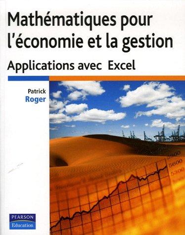 Roger:Math Appliq Gestion Excel _p1