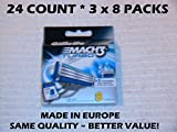 Gillette Mach3 Turbo Men's Razor Blades – 8 Refills