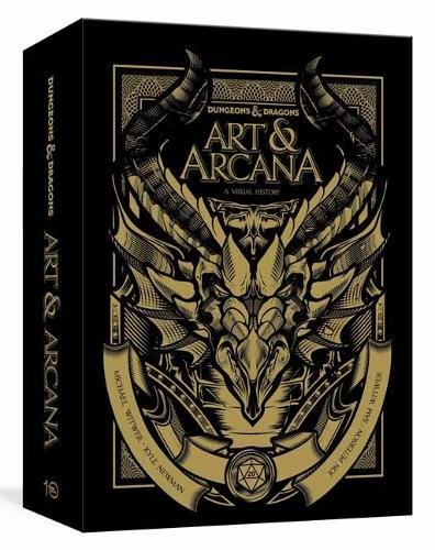 Dungeons and Dragons Art and Arcana [Special Edition, Boxed Book & Ephemera Set]: A Visual - Tabletop Gaming