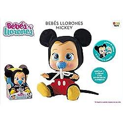 IMC Toys Bebes LLORONES Mickey, (2)