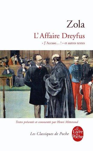 L'Affaire Dreyfus:J'Accuse et autres textes