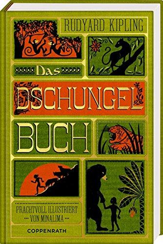 Buchseite und Rezensionen zu 'Das Dschungelbuch' von Rudyard Kipling