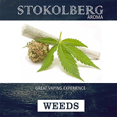 Stokolberg Tabak Aroma WEEDS, 50ml zum selber mischen von E-Liquid (WEEDS, 50ml) (Weed Aroma)