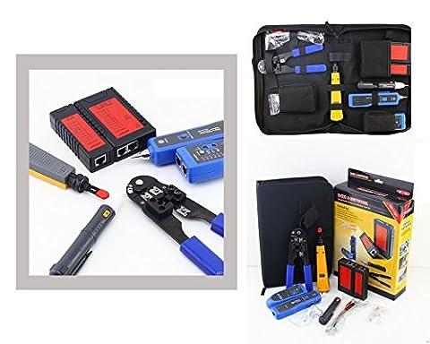 Kalea Informatique Computer Network Kit–For Plug-In/Locate/Tester Model 1107