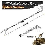 likorlove 119,4cm faltbar Schlange Tong Grabber Upgrade klappbar Schlange...