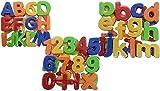 KSS Neu Magnet Buchstaben Magnetbuchstaben und Zahlen Magnetisches Alphabet groß und Kleinschreibung 99 Teile Magnet Buchstaben