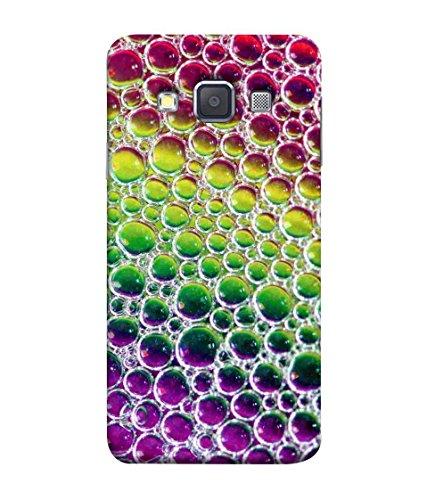 Samken Colorful Bubbles Designer Printed Back Cover Case For Mobile Phone :: Samsung Galaxy A7 (2015) :: Samsung Galaxy A7 Duos (2015) :: Samsung Galaxy A7 A700F A700Fd A700K/A700S/A700L A7000 A7009 A700H A700Yd (Printed, Slim Fit, Shock Proof, Hard Plastic, Matte Finish)