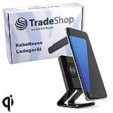 Trade-Shop Wireless Schnellladegerät 1A Qi Fast Wireless Charger Kabellos Ladegerät Drahtloses Induktive Schnellladestation für Microsoft Lumia 950 XL Dual SIM Nokia 8 Sirocco
