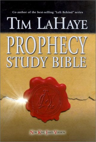 Prophecy Study Bible: New King James Version Bonded Burgundy