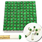 Laxmi Ganesh Billiard Push-on Snooker Pool Cue Stick Slip-on Tips (9 mm) -100