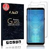 JD 3-Pack Protection écran LG Q Stylus, Protection écran LG Q Stylus Plus, Protection écran LG Q Stylus Alpha, [Verre Trempé] [Non Couverture Complète] Protection écran Clair HD pour LG Q Stylus