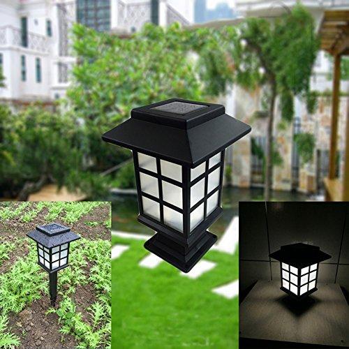 [Solar Gartenleuchte ] Außenleuchte LED Solarleuchte Deko Gartenbeleuchtung Wasserdicht IP65...