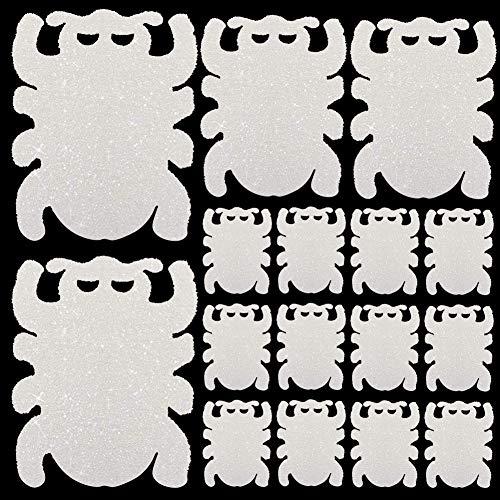 DrafTor 16 Stück Fette Öl-absorbierender Schwamm Spinnenförmig für Schwimmbäder Whirlpool und Spa-Reiniger