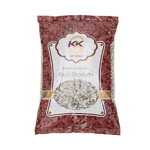 K K GOLD Premium Quality Black Urad Daal Split, 500 Gram