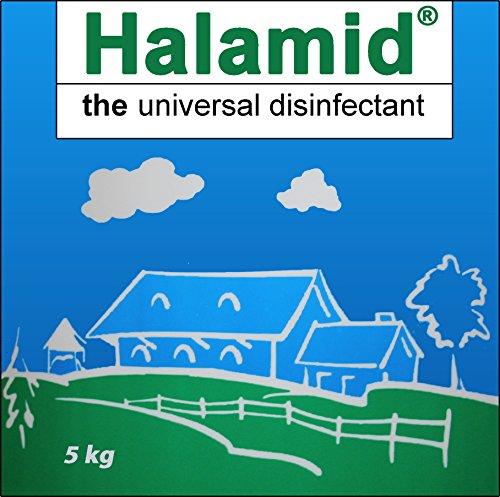 Halamid / Chloramin-T, das Original von Axcentive - Professionelles Desinfektionsmittel gegen Viren, Bakterien, Pilze und einzellige Ektoparasiten im Koiteich und in der professionellen Aquakultur, 5kg Sack von Tomodachi
