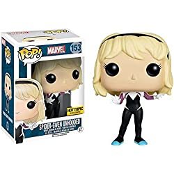 Funko POP! Marvel: Spider Gwen sin máscara Exclusivo